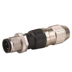 M12 Konektor – muški ravni, 3-polni, IDC,