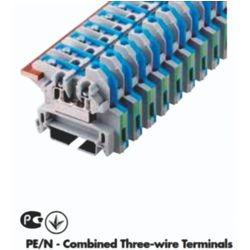 PE/N terminal s kombinirane 3 žice