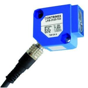 Difuzni senzor s prigušivačem pozadine 30x30x15