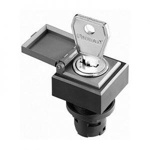 Aktuator s ključem s zaštitnim poklopcem – QXSSKA18E