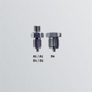 Adapter s mamonetarnim otvorom za tlak