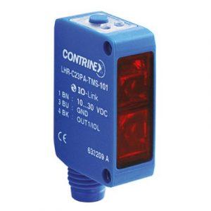Difuzni senzor s prigušivačem pozadine 20x30x10