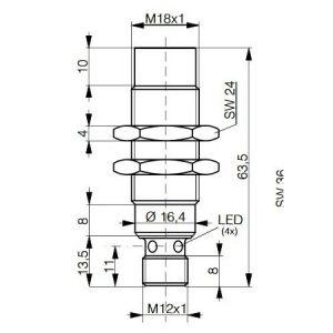 Contrinet R/W LF modul M18