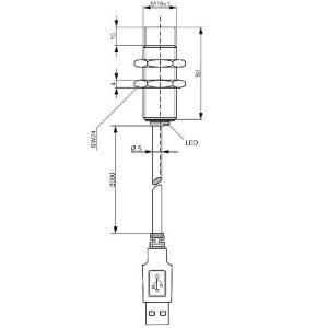 USB R/W LF modul M18