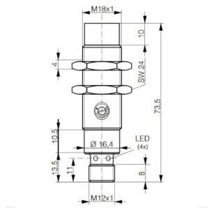 Contrinet R/W HF modul M18