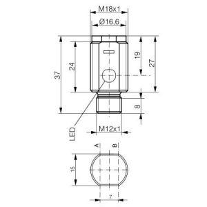 Refleksivni senzor M18