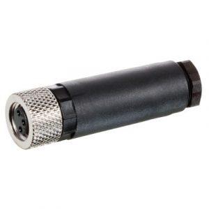 M8 Konektor – ženski ravni, 3-polni, screw