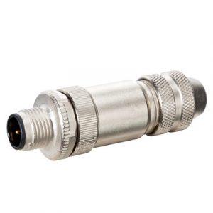 M12 Konektor – muški ravni, 5-polni, shielded