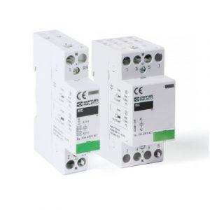Instalacijski kontaktor RIC16, 1pol, 2 ili 4 pola, 16A, 3.5kW